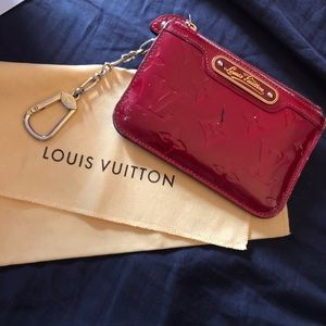 Louis Vuitton Vernis Key Chain Wallet